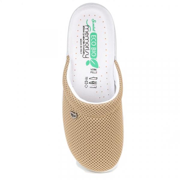 Papuci confortabili EcoBio 201149 Bej 1