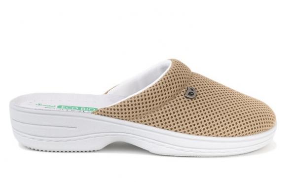 Papuci confortabili EcoBio 201149 Bej 2
