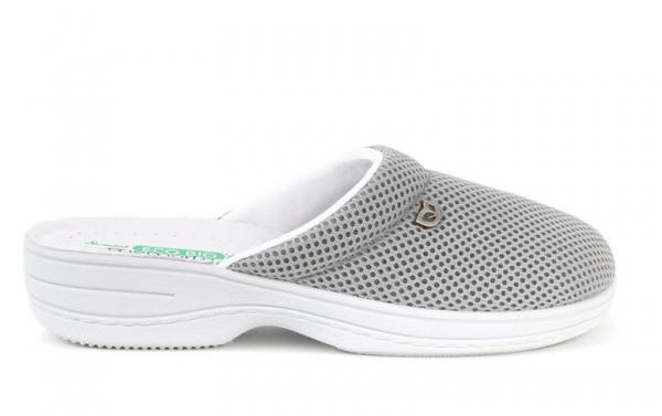 Papuci confortabili EcoBio 201149 Gri 2