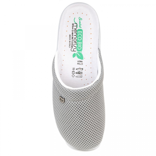 Papuci confortabili EcoBio 201149 Gri 1