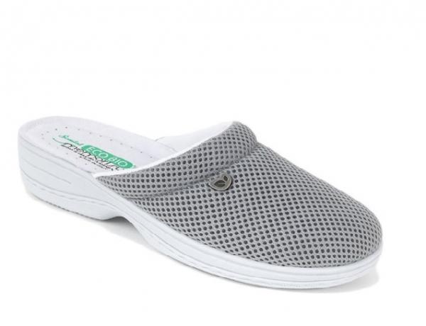 Papuci confortabili EcoBio 201149 Gri 0