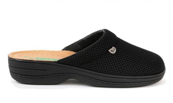 Papuci confortabili EcoBio 201149 Negru 2