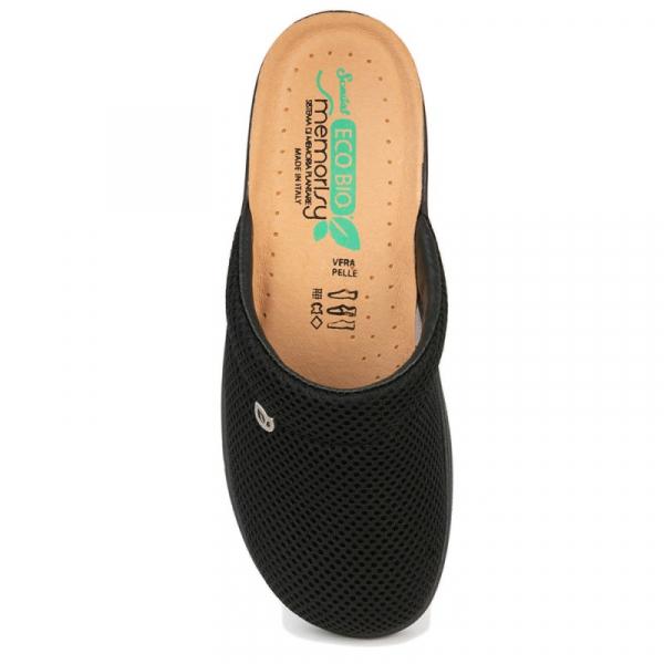 Papuci confortabili EcoBio 201149 Negru 1