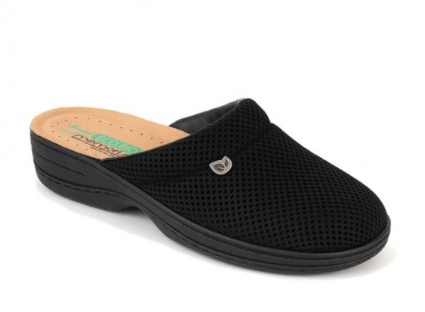 Papuci confortabili EcoBio 201149 Negru 0