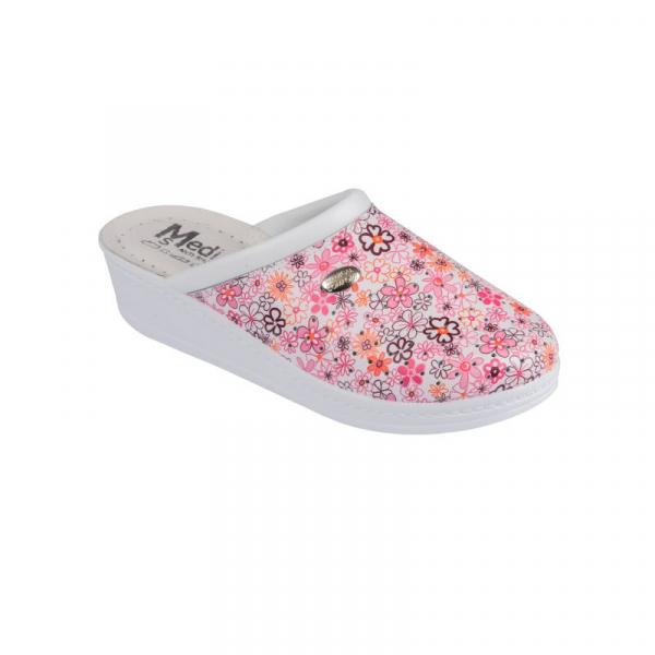 Saboti dama Medi+ 100SBC Pink Flower 0