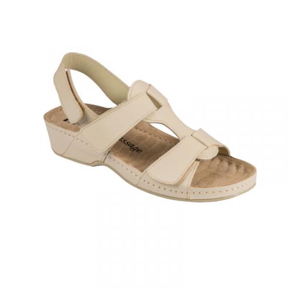 Sandale confortabile 245 Bej 0