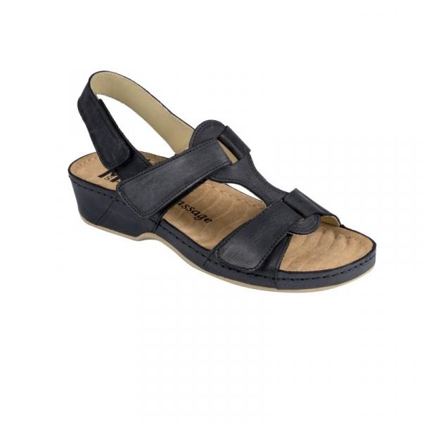Sandale confortabile 245 Negru 0