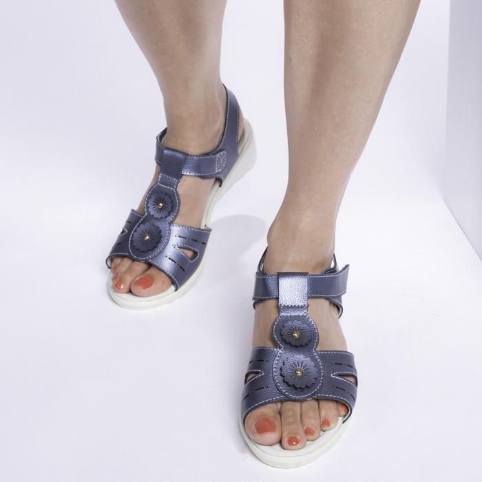 Sandale confortabile B815474 Navy [2]