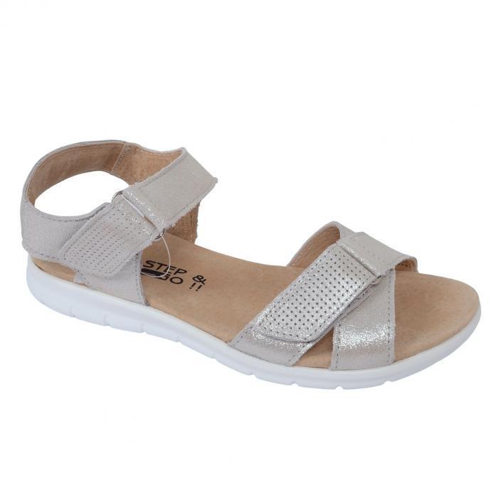 Sandale confortabile B826274 Pewter 0