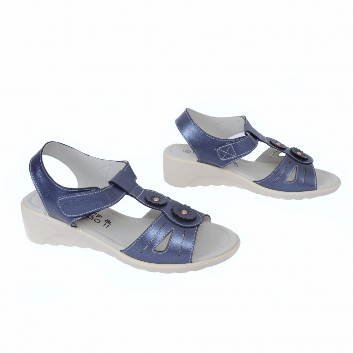 Sandale confortabile B815474 Navy 1