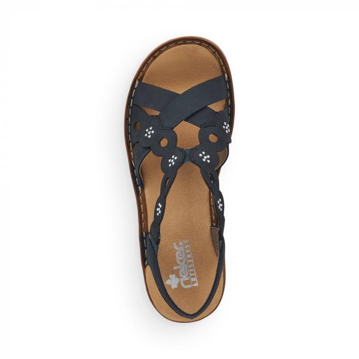 Sandale din piele naturala Rieker 60865-14 [5]