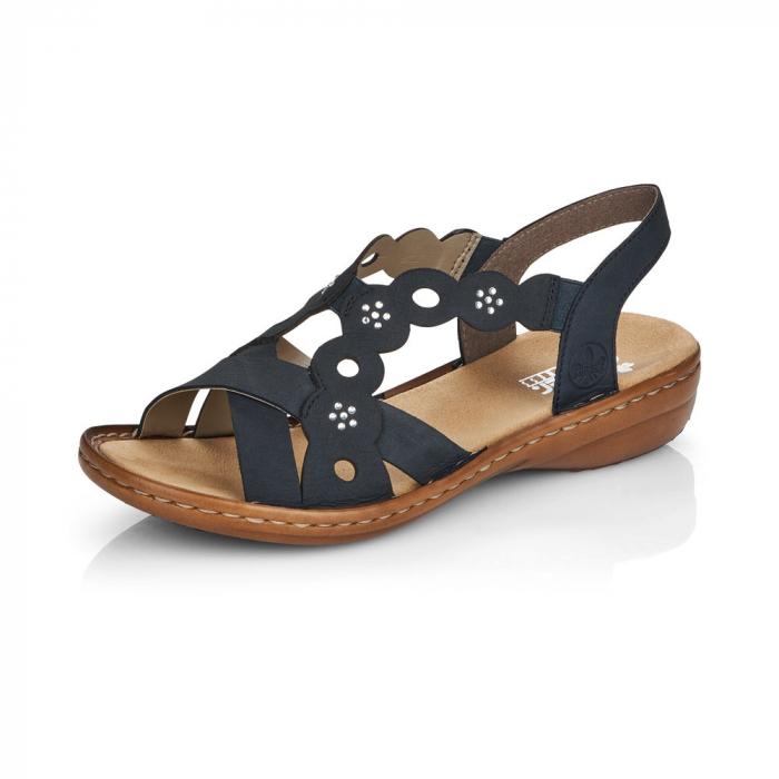 Sandale din piele naturala Rieker 60865-14 [1]