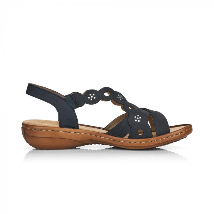 Sandale din piele naturala Rieker 60865-14 [3]