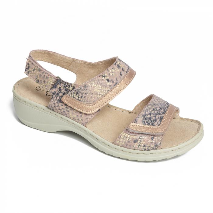 Sandale confortabile B826284 Rose-Gold [1]