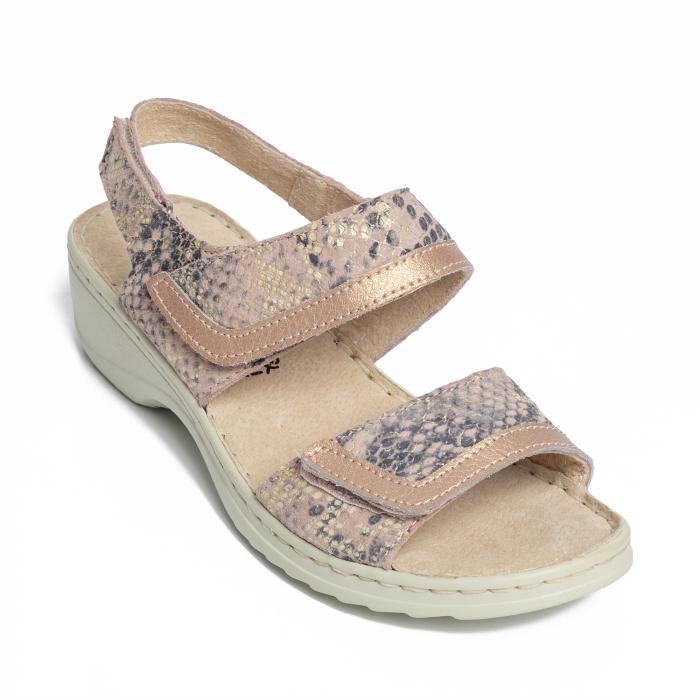 Sandale confortabile B826284 Rose-Gold [2]