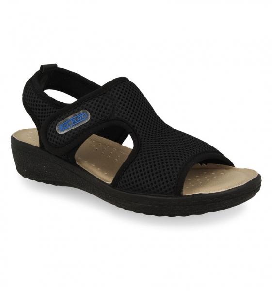 Sandale confortabile Fly Flot 068 Negru [0]