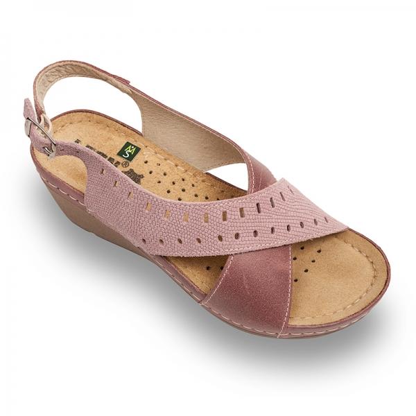Sandale confortabile Leon 1030 Rose 0