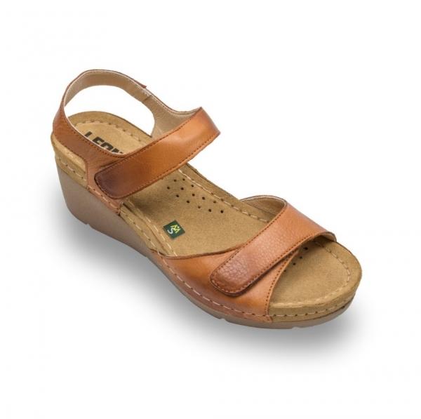 Sandale confortabile Leon 1041 Maro 0