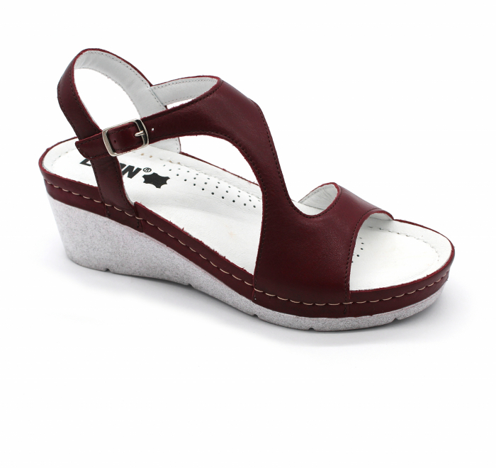 Sandale confortabile Leon 1050 bordo 0