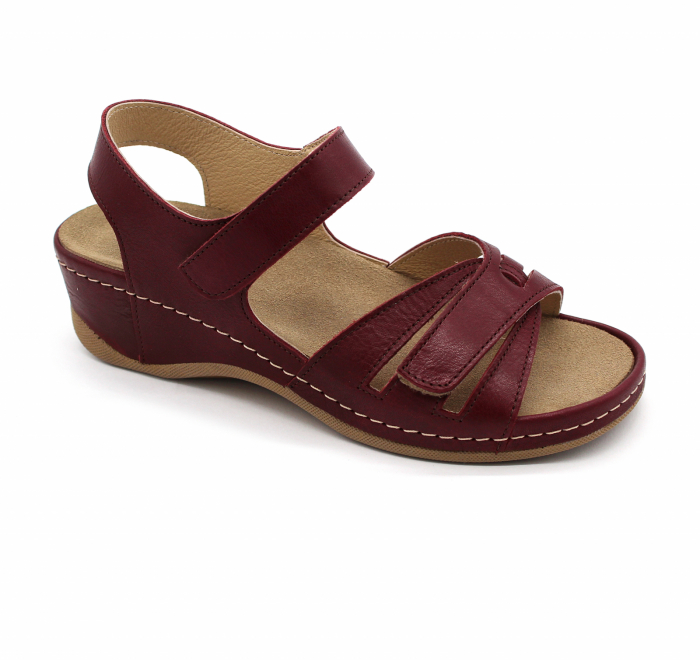 Sandale confortabile Leon 2021 bordo 0