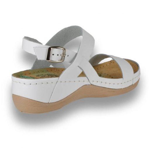 Sandale confortabile Leon 920 Alb 3