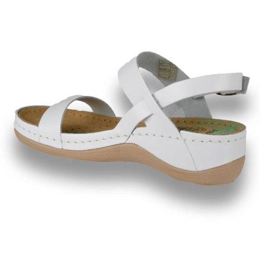 Sandale confortabile Leon 920 Alb 2
