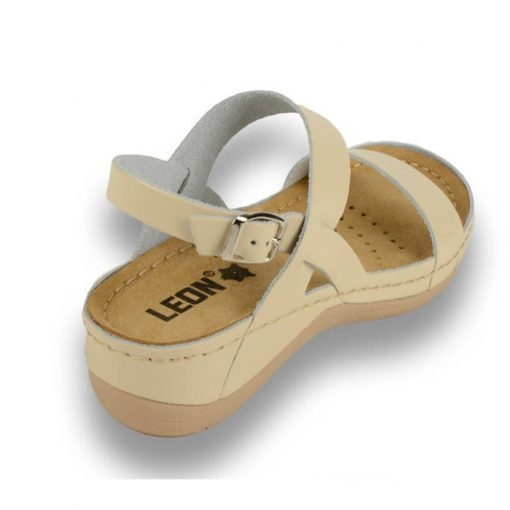 Sandale confortabile Leon 920 Bej 3
