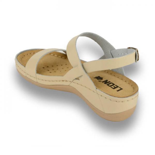 Sandale confortabile Leon 920 Bej 2
