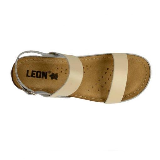 Sandale confortabile Leon 920 Bej 4