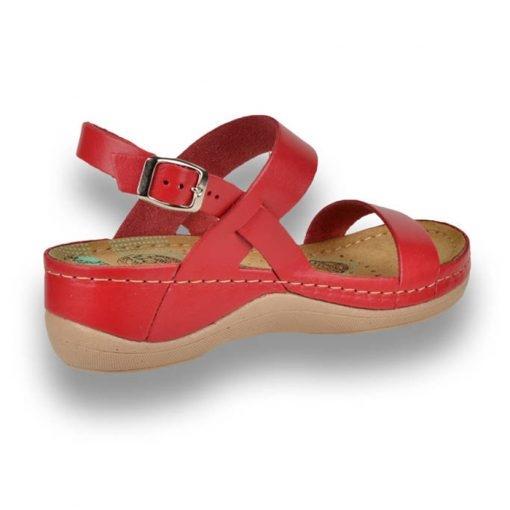 Sandale confortabile Leon 920 Rosu 3