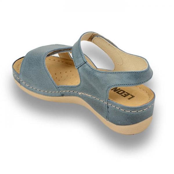 Sandale confortabile Leon 935 Albastru 1