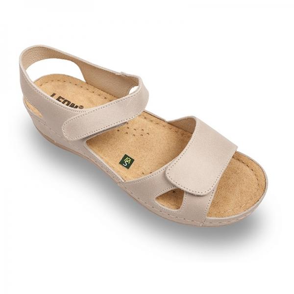 Sandale confortabile Leon 935 Bej 0