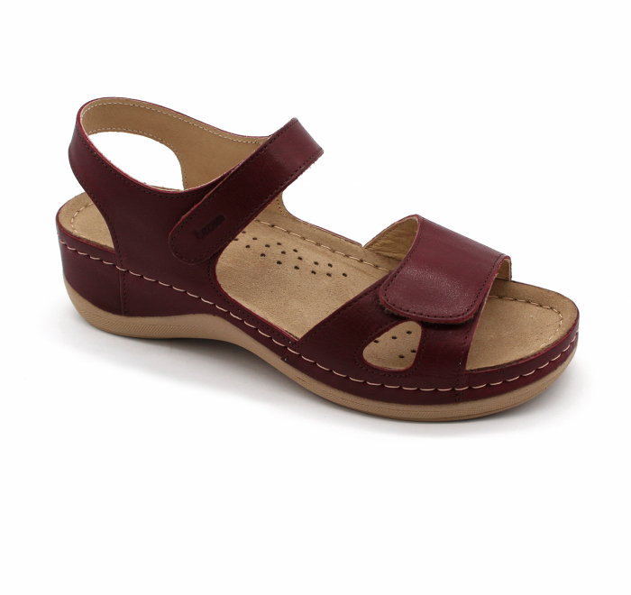 Sandale confortabile Leon 935 bordo 0