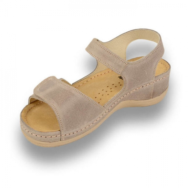 Sandale confortabile Leon 935 Gri-Maroniu 1