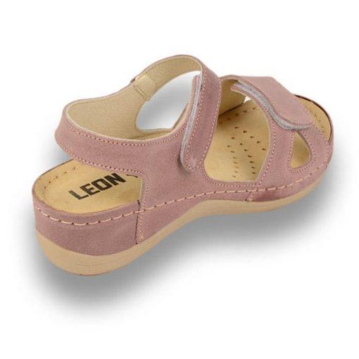 Sandale confortabile Leon 935 Rose 3