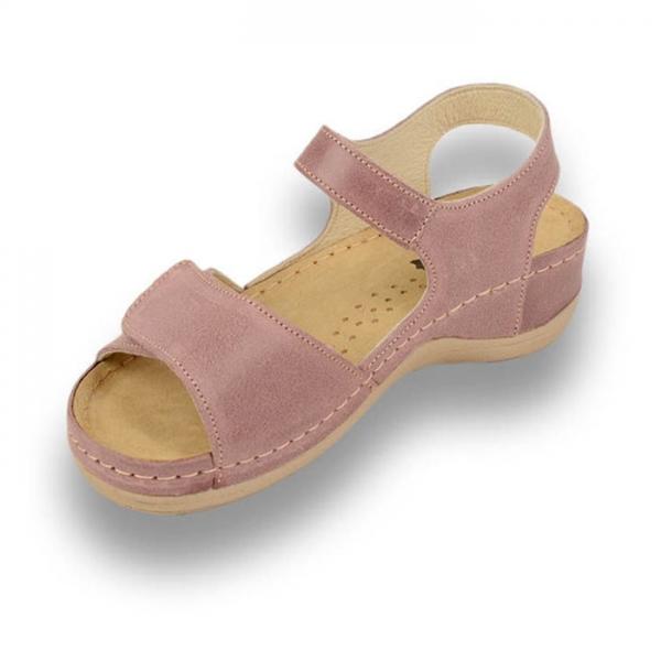 Sandale confortabile Leon 935 Rose 1