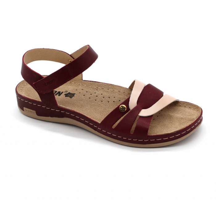 Sandale confortabile Leon 961 bordo 0