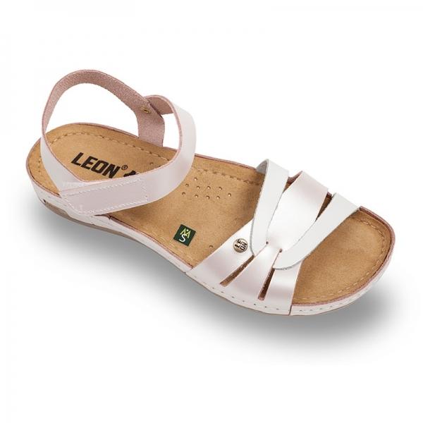 Sandale confortabile Leon 961 Pearl 0
