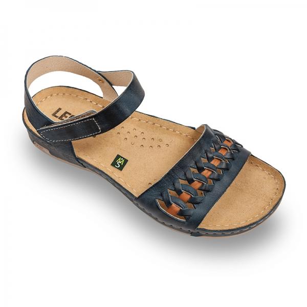 Sandale confortabile Leon 964 Albastru 0