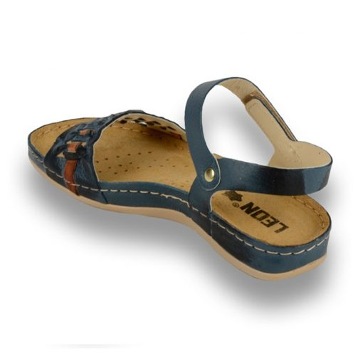 Sandale confortabile Leon 964 Albastru 2