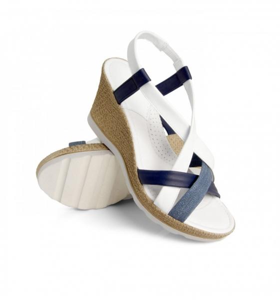 Sandale confortabile  Miami EX1N2 Jeans 2