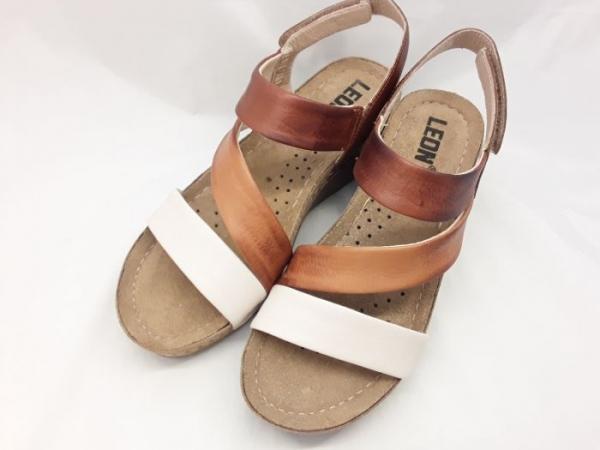 Sandale cu talpa ortopedica 1020 Maro 1