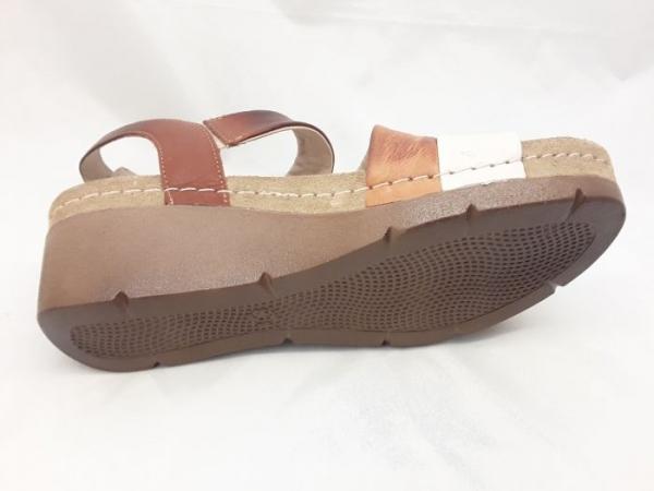 Sandale cu talpa ortopedica 1020 Maro 2