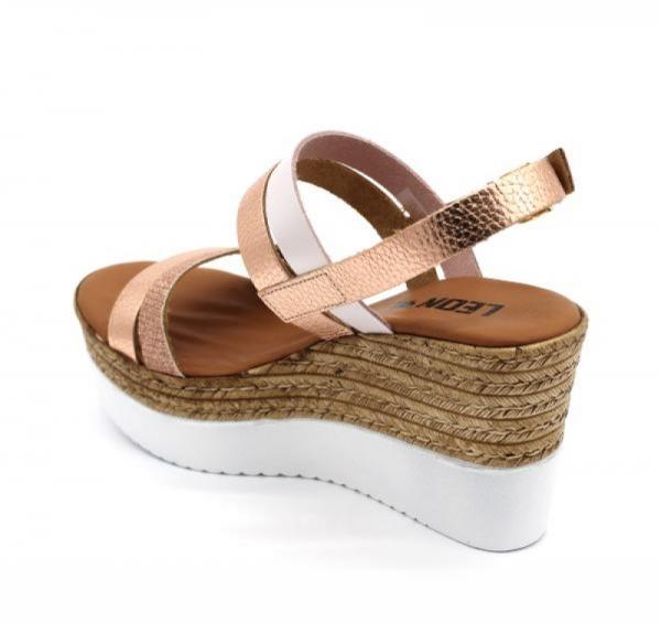 Sandale cu talpa ortopedica 1301 Rose 1