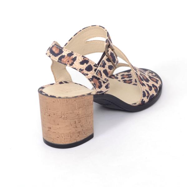 Sandale din piele naturala 250 Leopard 3