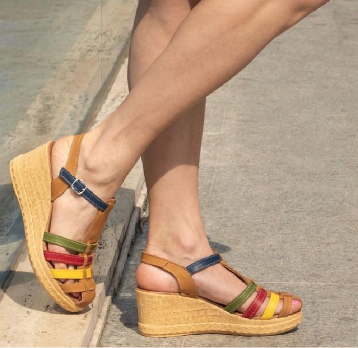 Sandale din piele naturala 262 Color Vara [0]