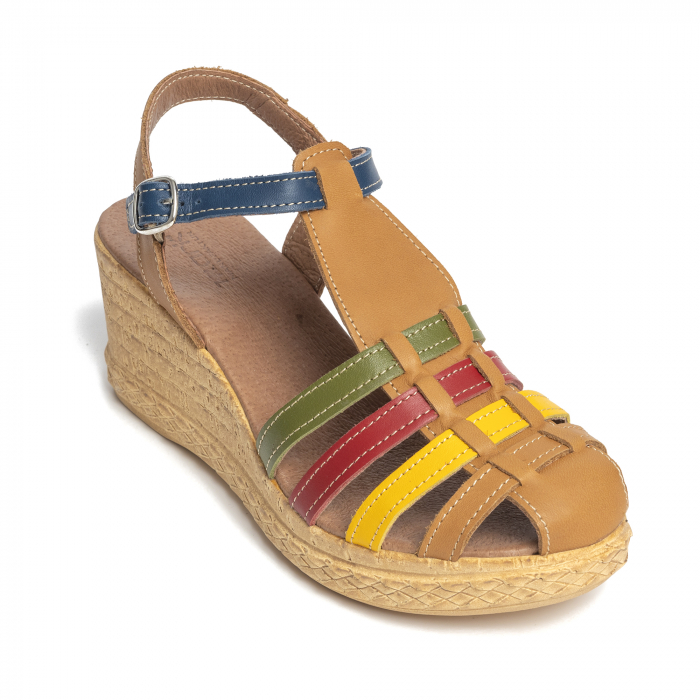 Sandale din piele naturala 262 Color Vara [3]