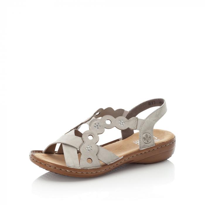 Sandale din piele naturala Rieker 60865-60 [1]