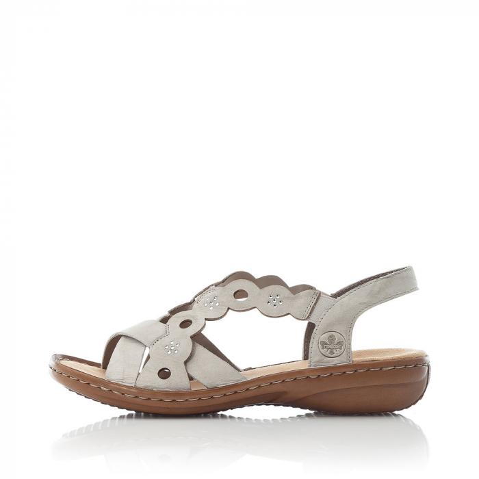 Sandale din piele naturala Rieker 60865-60 [5]