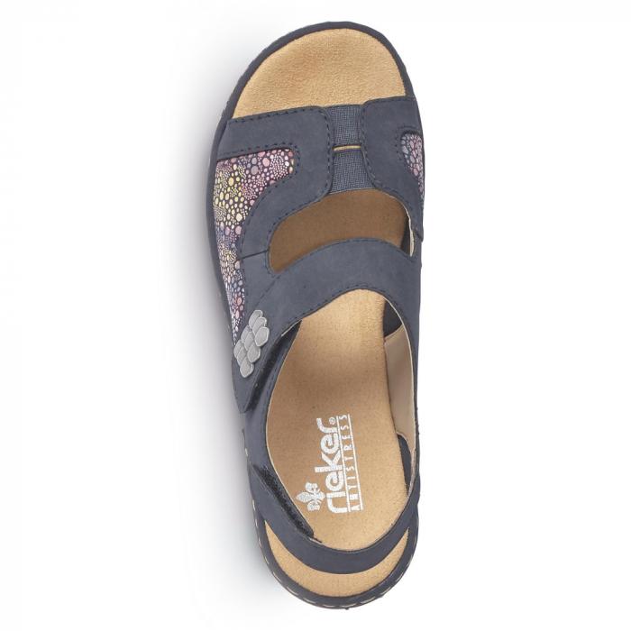 Sandale din piele naturala Rieker 65989-14 [5]